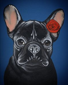 Halloween , day of the dead , frenchie , french bulldog , bulldog , teunen , jeroen teunen