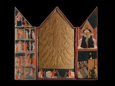 Pacino di Bonaguida (Florentine), died before 1340, active 1302-1340) The Chiarito Tabernacle