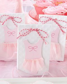 Tutu Favor Bags. Baby Shower ...