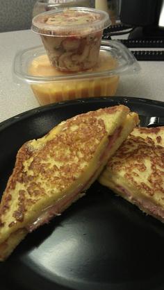 My first @Daina Walker Zaske-to-Go meal. Ham ...