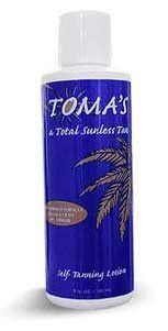 Tomas Tan Perfect Self-Tanning Lotion by Toma's Tan. $12.50. Toma's Tan Perfect Self-Tanning Lotion gives you a total sunless tan!. Save 48%!