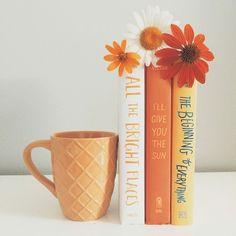 Tea, Coffee, and Books : Photo Flat Lay Photography, Book Photography, Creative Photography, Orange Aesthetic, Book Aesthetic, Coffee And Books, My Books, Orange Book, Book Instagram