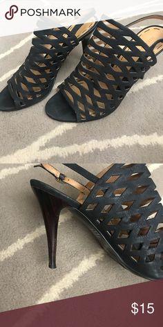 """Nine West heels """"Smiledays"""" leather upper heel by Nine West Nine West Shoes Heels"""