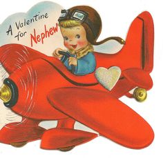 Valentine airplane by sakameg, via Flickr