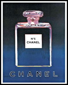 CHANEL / ANDY WARHOL NO.5 PERFUME PRINTS  PURCHASE PRINT ONLY OR FRAMED (MATTE BLACK OR WHITE)  PRINTS ARE FRAMED BEHIND PLEXIGLAS WITH WOOD STAIND MATTE BLACK OR WHITE.  ALL HARDWARE INCLUDED  FREE SHIPPING IN NORTH AMERICA FOR PURCHASES OVER $100  MORE OPTIONS FOUND AT WWW.WALLSMART.CO