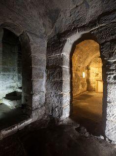 Saxon Crypt under Hexham Abbey, Northumberland.