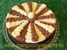 Dort harlekýn Czech Desserts, High Sugar, Buttercream Cake, Pavlova, Tiramisu, Waffles, Pie, Cookies, Baking