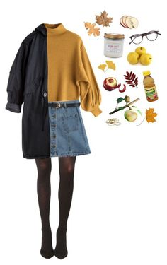 autumn wardrobe You are the apple of my eye Aesthetic Fashion, Look Fashion, Aesthetic Clothes, Retro Fashion, Korean Fashion, Autumn Fashion, Womens Fashion, Grunge Fashion Winter, Indie Outfits