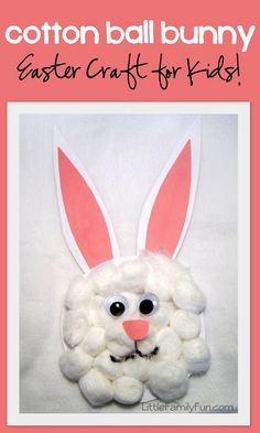 Fun Easter craft for kids! And cute too!