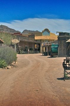 Old Tucson Studios, The film site for over 300 westerns since 1939 Vacation Places, Vacation Trips, Vacation Ideas, Old West Town, Tv Westerns, I Want To Travel, Filming Locations, Tucson, Abandoned Places
