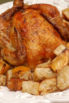 Ina's Roasted Chicken