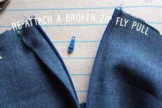 Fix a broken zip