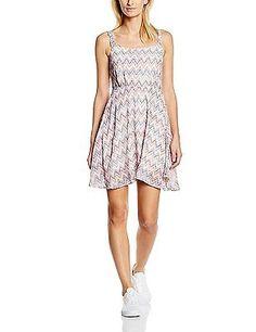 12, Multicoloured - Mehrfarbig (PINKY ETHNIC 6061), LTB Women's Semowe Dress Dre