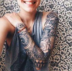Tattoo Sleeves Black Woman