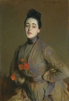 John Singer Sargent: Miss Priestley  One of my favorite painters