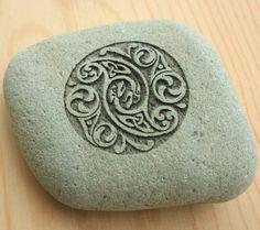 Lovely celtic design for soap.