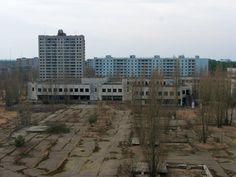 Pripyat apartments - post Chernobyls complete meltdown