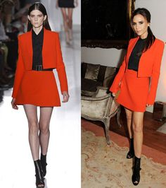 Victoria Beckham Style, New Arrival Career Mini Dress suits