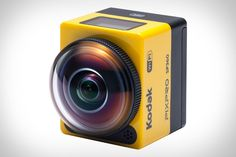 Gift idea: If you were considering getting a GoPro for someone this holiday, take a look at the Kodak Pixpro SP360 Action Camera before you make that final decision | Features include: 360º Viewing Range, Full HD 1080p Video, Dustproof / Water Resistant, 16 Megapixel MO Sensor, and more. | Click through to product page for more info and sample video. #holidaygift #video #techgifts