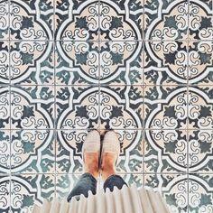 The prettiest floor tiles