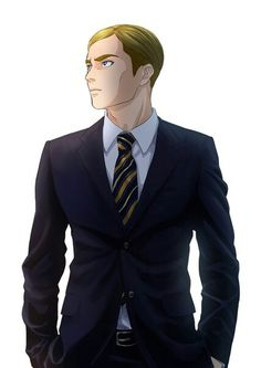 Me:*bows as I see Erwin*Good morning Mr.President