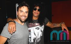 Triple M's Gordie Waters and Slash were asked to demonstrate what Apocalyptic Love looks like. Apocalyptic Love, T Shirt, Women, Fashion, Supreme T Shirt, Moda, Tee Shirt, Fashion Styles, Fashion Illustrations