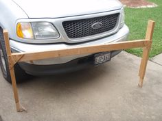 homemade truck rack from 2x4's