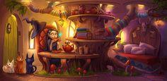 Tea time by Sedeptra on DeviantArt