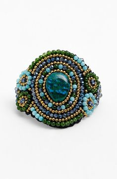 Panacea Amazonite & Quartz Bracelet available at #Nordstrom