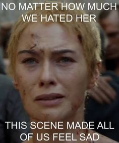 Kinda sad, and a little uncomfortable.   Game of Thrones Memes
