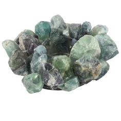 Candle Holder, Green Fluorite