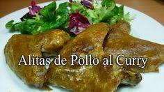 Alitas de pollo al curry   Una #receta de #pollo deliciosa, barata y muy fácil de hacer. Toma nota    ;) RECETA >> https://www.youtube.com/watch?v=JO279qXddew