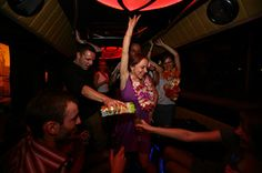 Let's make a party in Bus!