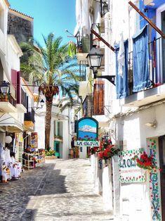 All things Europe — Ibiza, Spain (by Belinda Fewings) Ibiza Travel, Spain Travel, Travel Trip, Malaga, Places To Travel, Places To Go, Ibiza Town, Spain And Portugal, Greek Isles