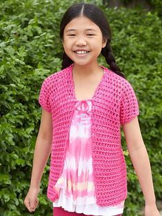 Ravelry: School Photo Day Cover-Up pattern by Lorna Miser free