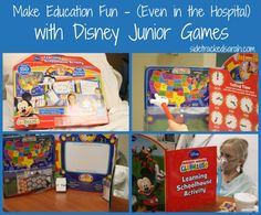 Make Education Fun – Even in the Hospital with Disney Junior Games - #Ready4Preschool #shop