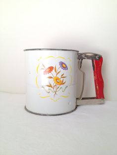 Vintage Androck Flour Sifter HandiSift Red , $19.00