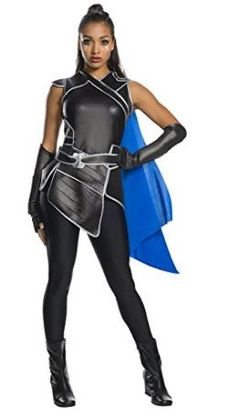 Thor Valkyrie Costume with Blue Cape