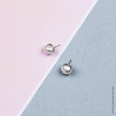 Petite Luxe Stud Earrings - Petite stud earrings in burnished silver plating adorned with lustrous white freshwater pearls Designer Jewellery, Jewelry Design, White Freshwater Pearl, Belly Button Rings, Silver Plate, Plating, Collections, Stud Earrings, Jewels