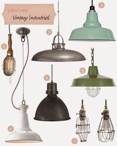 ipari stílus lámpái