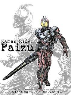 Kamen Rider 555 Blast form by Uky0.deviantart.com