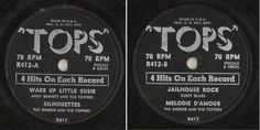 """Various Artists / Wake Up Little Susie + 3 (1950's) / Tops R-412 (EP, 10""""), $3.15"""