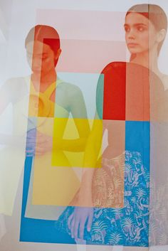 """""""This season, color is both a visual component and an architectural element."""" #DelpozoSS15 Collection."""