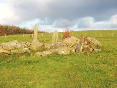 Bocan Stone Circle outside Culdaff in Inishowen