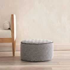 Shop for VCNY Diamond Round Floor Pouf. Get free shipping at Overstock.com - Your Online Home Decor Outlet Store! Get 5% in rewards with Club O!