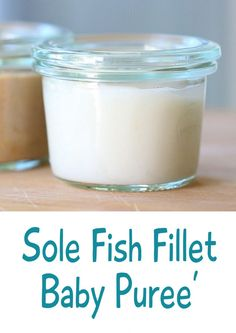 Sole fish puree' – baby food basics | Buona Pappa
