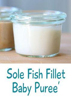 Sole fish puree' – baby food basics | Buona Pappa