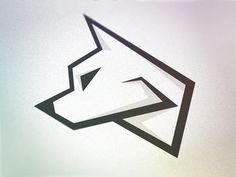 Dribbble - Wolf Logo - WIP by Aiden Guinnip