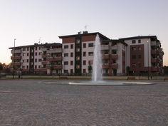 Biassono, Parco Urbano - Piazza con fontana