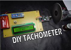 How to Make Arduino Based Digital Tachometer Simple DIY Tutorial - Electric DIY Lab